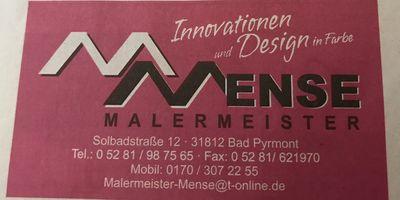 Mense Matthias Malermeister in Bad Pyrmont