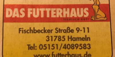 Das Futterhaus Franchise-GmbH & Co. KG in Hameln