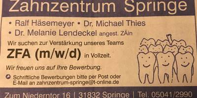 Häsemeyer Ralf , Thies Michael Dr. Zahnärztliche Gemeinschaftspraxis in Springe