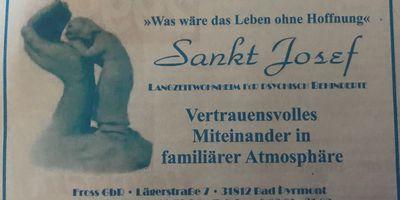 Fross GbR Wohnheim Sankt Josef Langzeitwohnheim in Bad Pyrmont
