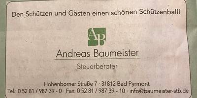 Baumeister Andreas Steuerberater in Bad Pyrmont