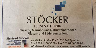 Stöcker Fliesentechnik und Fliesenstudio in Bad Pyrmont