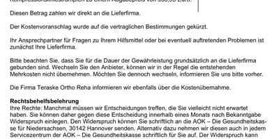 AOK - Die Gesundheitskasse für Niedersachsen in Hannover