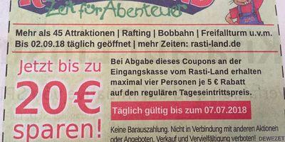 Rasti-Land - Freizeit- und Abenteuerland in Salzhemmendorf