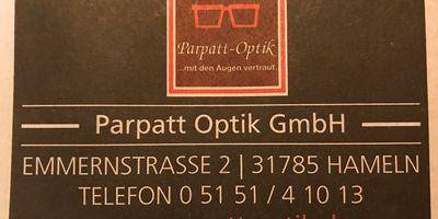 Parpatt-Optik GmbH in Hameln