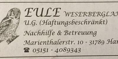 Eule Weserbergland Nachhilfe UG (haftungsbeschränkt) in Hameln
