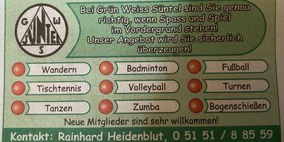 SV Grün-Weiß Süntel in Hameln