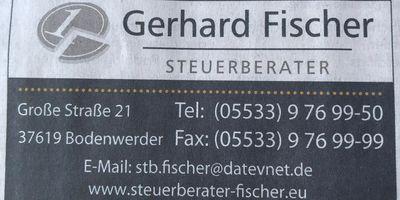 Gerhard Fischer in Bodenwerder