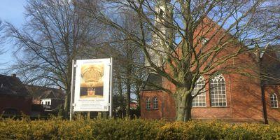 Evangelisch lutherisch, Lutherkirche, Klemenz Superintendent in Leer in Ostfriesland