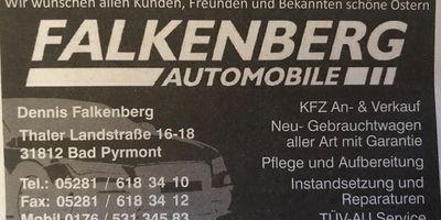 Falkenberg Automobile in Bad Pyrmont