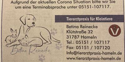 Reinecke B. Tierarztpraxis in Hameln