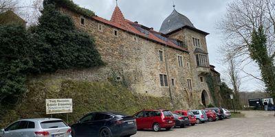 Schaumburg Burg Schaumburg Burggaststätte in Schaumburg Stadt Rinteln