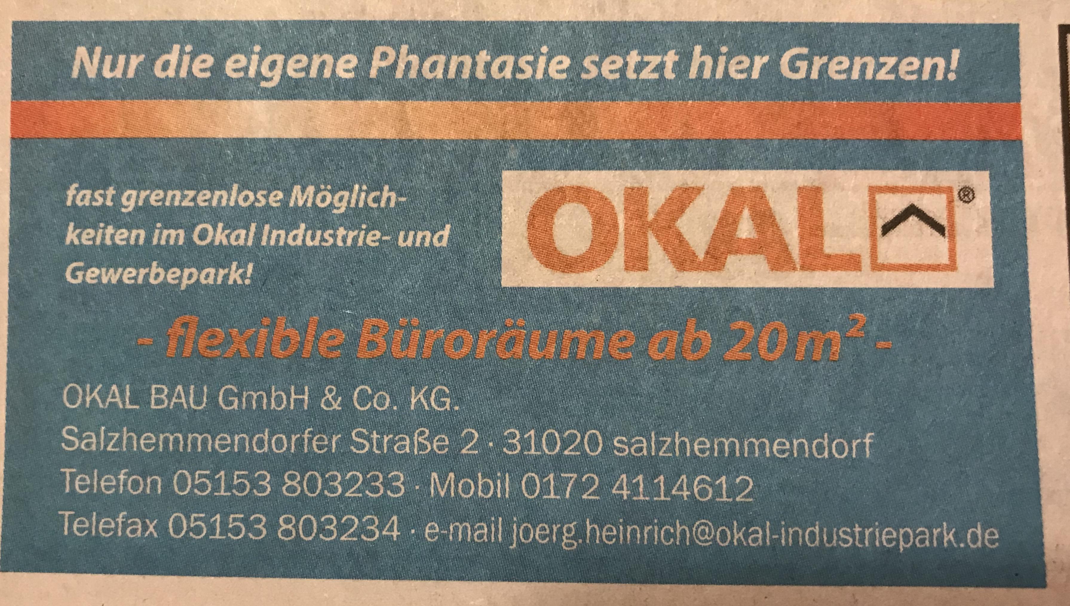 Okal Bau 31020 Salzhemmendorf Lauenstein Adresse
