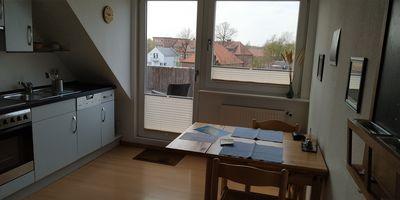 """Ferienwohnung Lippert - """"Über den Dächern der Altstadt"""" in Fehmarn"""