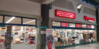 HAMMER - Fachmarkt für Heimausstattung in Greifswald