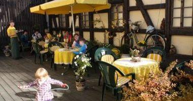 Töpfercafe in der Heyde Keramik in Jahnsdorf im Erzgebirge
