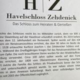 Hotel »Havelschloss Zehdenick« in Zehdenick