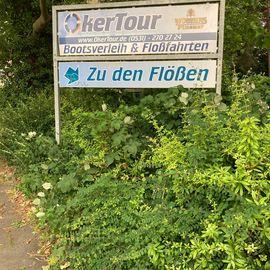 Bild zu Oker-Tour Flossfahrten in Braunschweig