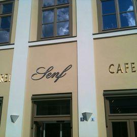 Cafe Senf in Wismar in Mecklenburg
