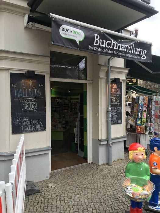 Buchbox Kiezbuchhandlung 1 Bewertung Berlin Prenzlauer Berg