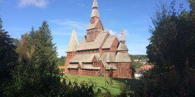 Gustav-Adolf-Stabkirche in Hahnenklee Bockswiese Stadt Goslar