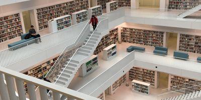 Stadtbibliothek am Mailänder Platz in Stuttgart