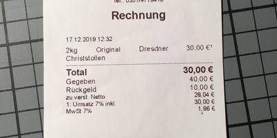 Stadtbäcker Höring in Dresden