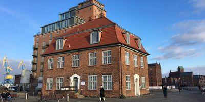 Baumhaus in Wismar in Mecklenburg