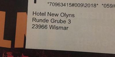 Hotel New Orleans in Wismar in Mecklenburg