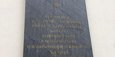 Bauhaus-Universität Weimar in Weimar in Thüringen