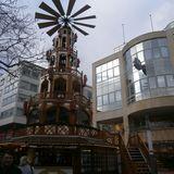 Goldener Weihnachtsmarkt in Pforzheim