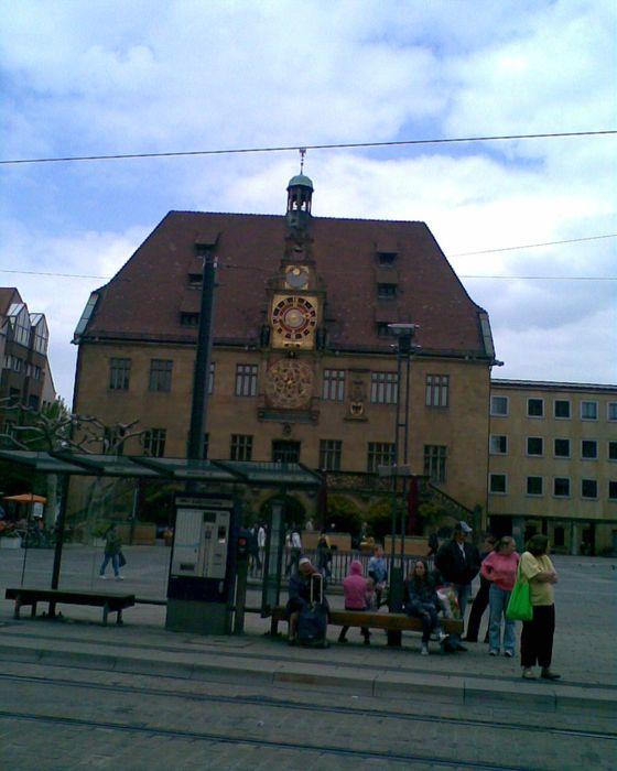 stadt heilbronn rathaus 1 foto heilbronn am neckar marktplatz golocal. Black Bedroom Furniture Sets. Home Design Ideas