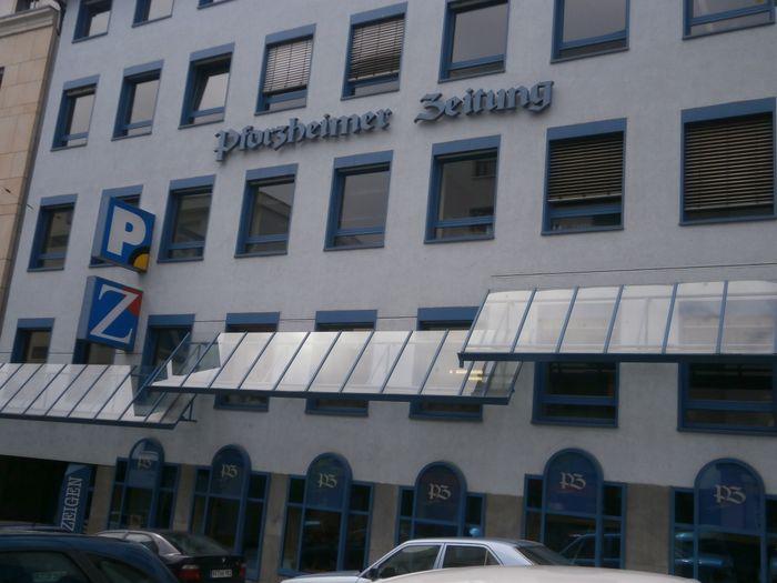 Esslinger Gmbh Co J Druck U Verlag D Pforzheimer Zeitung U
