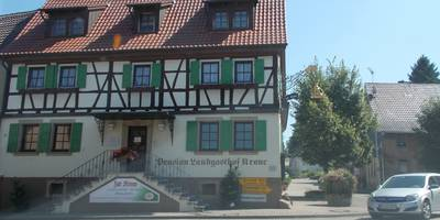 Krone in Gochsheim Gemeinde Kraichtal