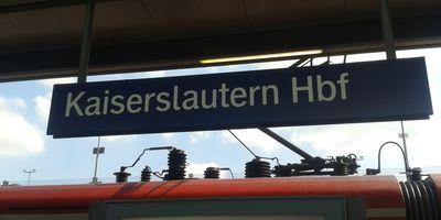 Bahnhof Kaiserslautern Hbf in Kaiserslautern