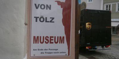 Bulle von Tölz Museum in Bad Tölz