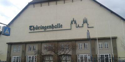 Thüringenhalle in Erfurt
