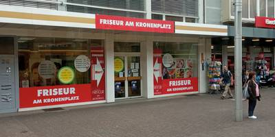 Friseur am Kronenplatz in Karlsruhe