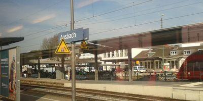 Bahnhof Ansbach in Ansbach