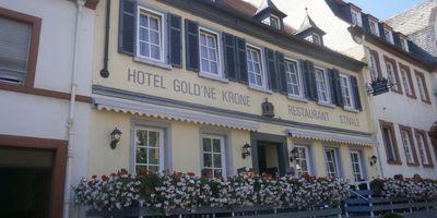 Hotel Gold`ne Krone und Restaurant Stivale in Oppenheim