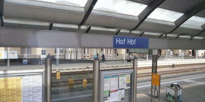 Bahnhof Hof Hbf in Hof an der Saale