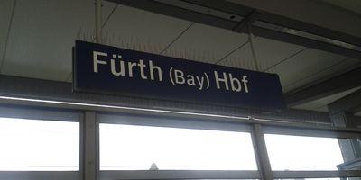 Bahnhof Fürth (Bayern) Hauptbahnhof in Fürth in Bayern