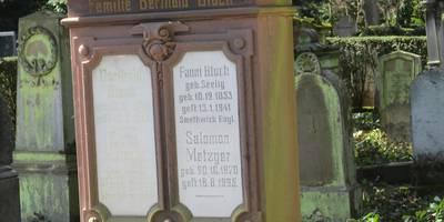 Jüdischer Friedhof im Hauptfriedhof in Pforzheim