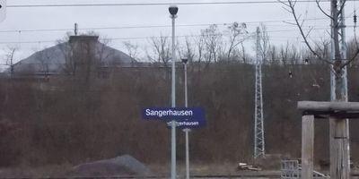 Bahnhof Sangerhausen in Sangerhausen