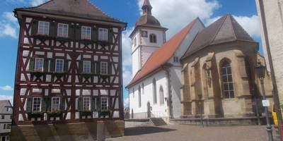 St. Leonhards- Kirche in Knittlingen