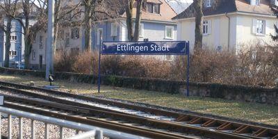 Bahnhof Ettlingen West in Ettlingen