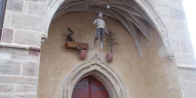 St. Georgskirche Pfarramt für Mansfeld u. Leimbach in Mansfeld im Südharz