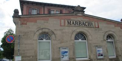 Bahnhof Marbach (Neckar) in Marbach am Neckar