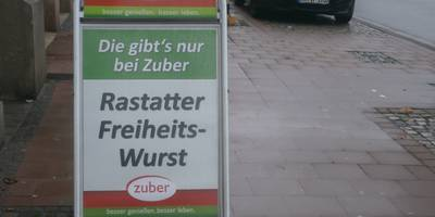 Zuber in Rastatt