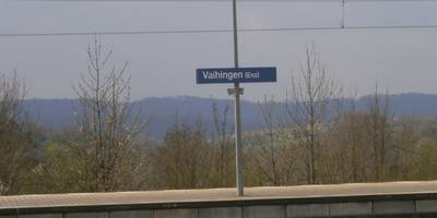 Bahnhof Vaihingen (Enz) in Vaihingen an der Enz